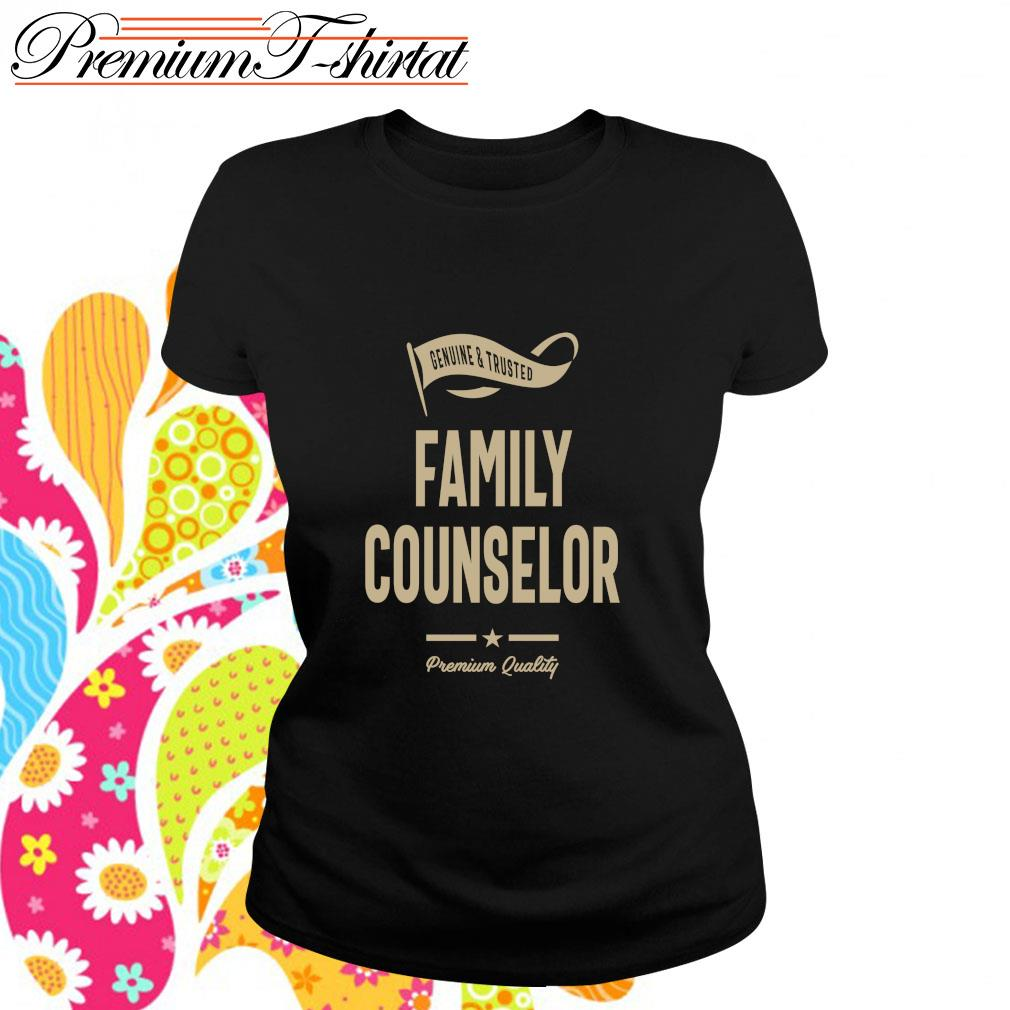 Genuine and trusted family counselor premium quality s ladies-tee