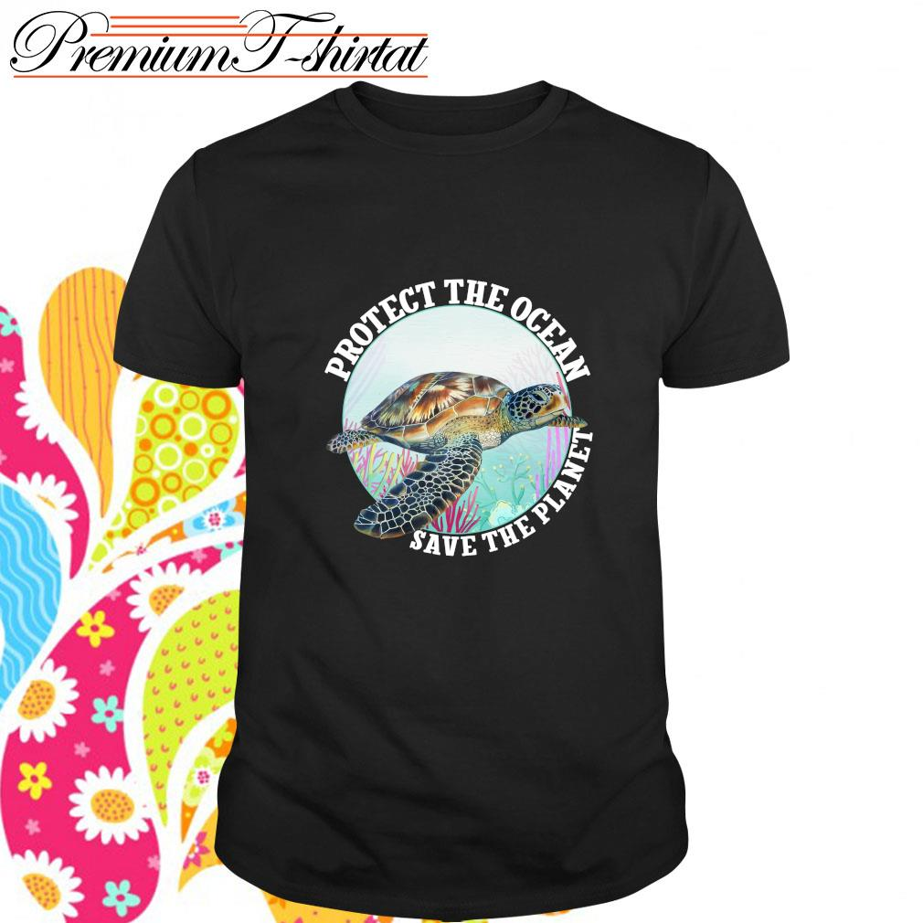 Protect the ocean save the planet shirt